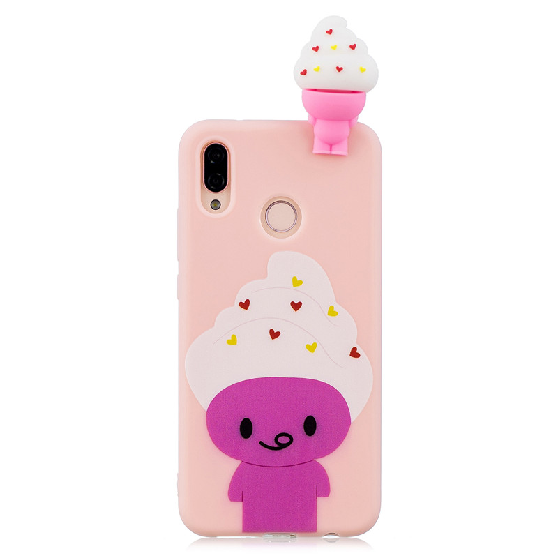 ff7c928c517 P20 Lite Phone Case on for Huawei P20 Lite Cover Fundas for Huawei P20 Pro Capa  3D Silicon Dolls Toys Cartoon Soft TPU Cases