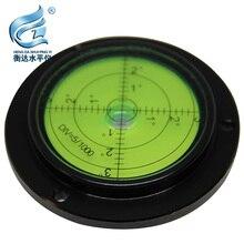 Round Spirit Levels Crane horizontal bubble Level Measuring Instrument Size 80*62*13mm 1 order цена и фото
