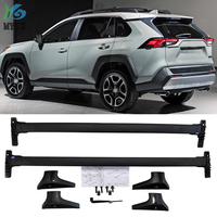 New arrival horizontal roof rack bar Transverse roof rail cross bar For Toyota RAV4 2019+ aluminum alloy+ABS, US orignal style