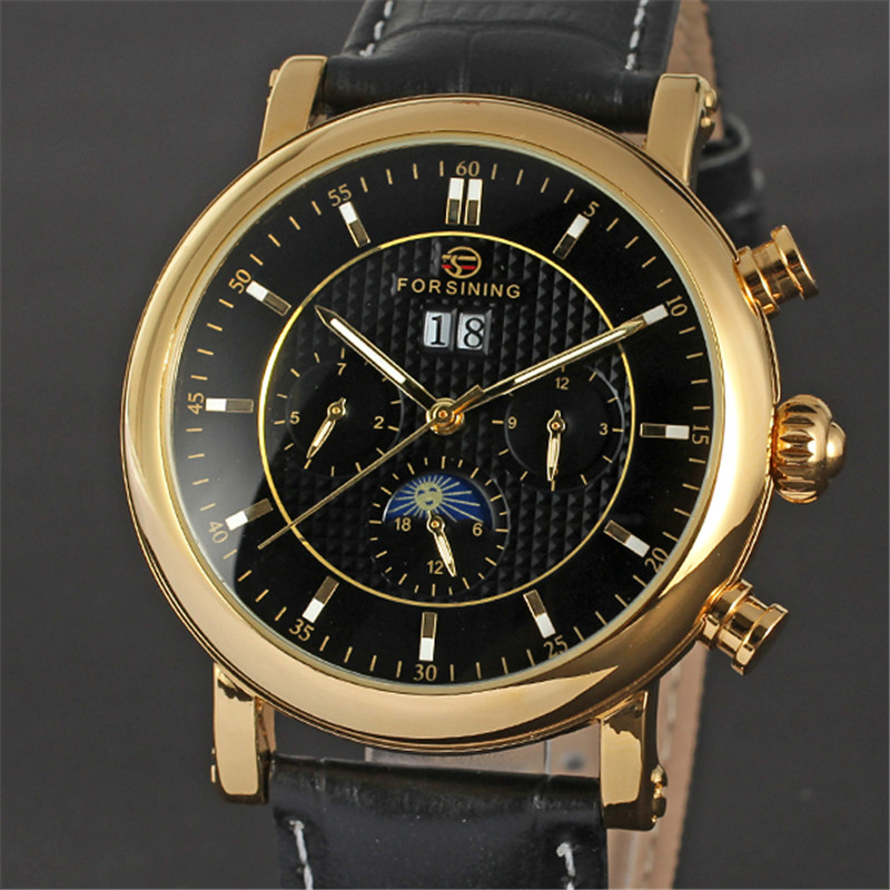 FORSINING Tourbillon Mens Watches Skeleton Automatic Mechanical Men Watch Top Brand Luxury Business Sport Military Clock 041 forsining mens watches top brand luxury golden men mechanical skeleton watch mens sport watch designer fashion casual clock men