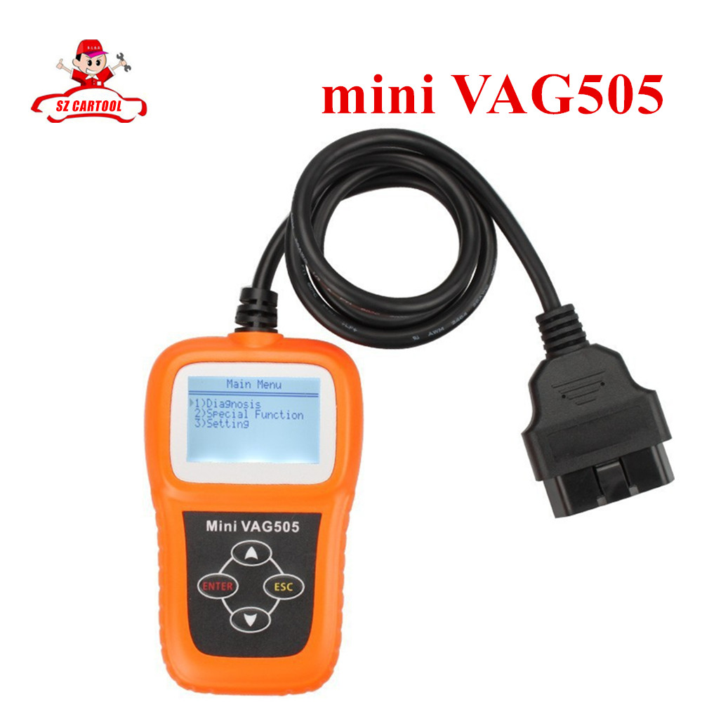 ФОТО Newly Arrived Mini VAG505 mini vag 505 Super Professional For VW/For AUDI Scanner with free shipping