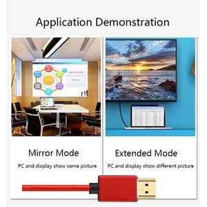Image 3 - Lungfish 4K כבל HDMI במהירות גבוהה HDMI 3D 1080P כבל עבור PS3 מקרן 1m 2m 3m 24K זהב מצופה hdmi כבלי 3840*2160 @ 60Hz