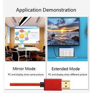 Image 3 - Lungfish CABLE HDMI 3D de alta velocidad 4K, 1080P, para proyector PS3, 1m, 2m, 3m, 24K, chapado en oro, 3840x2160 @ 60Hz