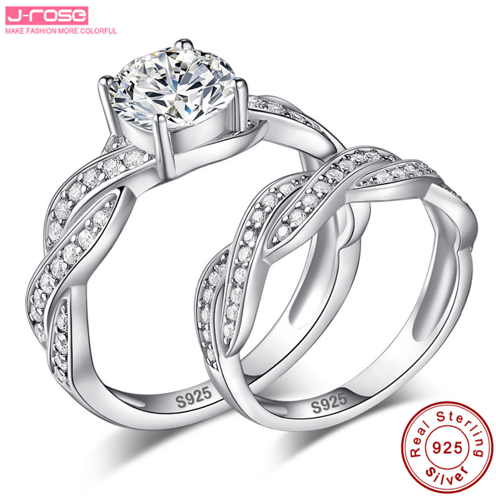 beautiful image of promise engagement wedding ring set - ring ideas