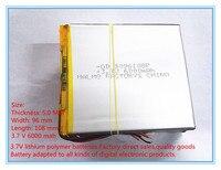 Free Shipping 3 7 V Tablet Battery 6000 Mah Large Capacity PDA Tablet PC MID 5096108