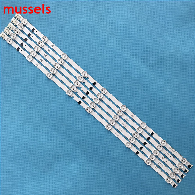 "LEDBacklight strip 9Lamp For Samsung 32"" TV D2GE 320C0 R3 BN96 25300A UA32F4088AR 2013SVS32H BN96 25299A HF320CSA B1 UA32F5500AR"