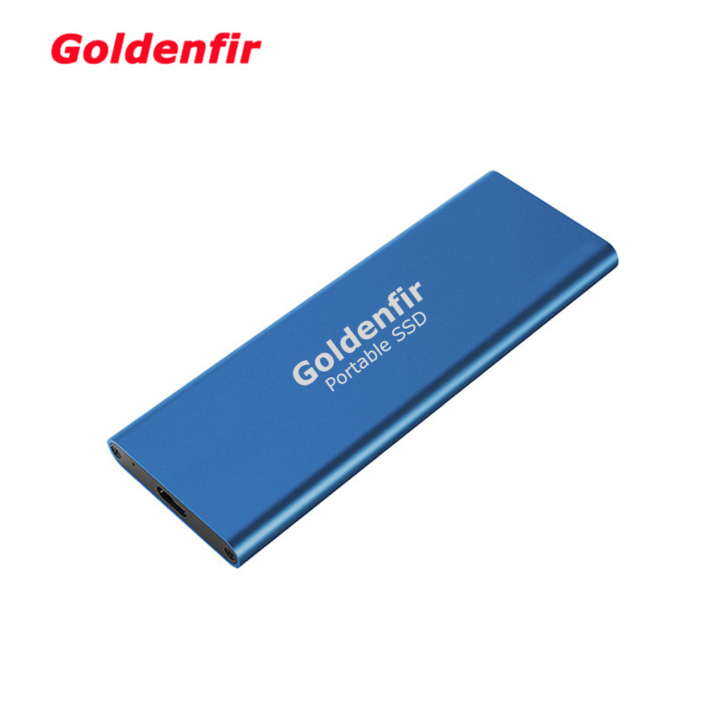 Goldenfir Portable SSD USB 3 1 512GB 1TB External Solid State Drive for Business and Private