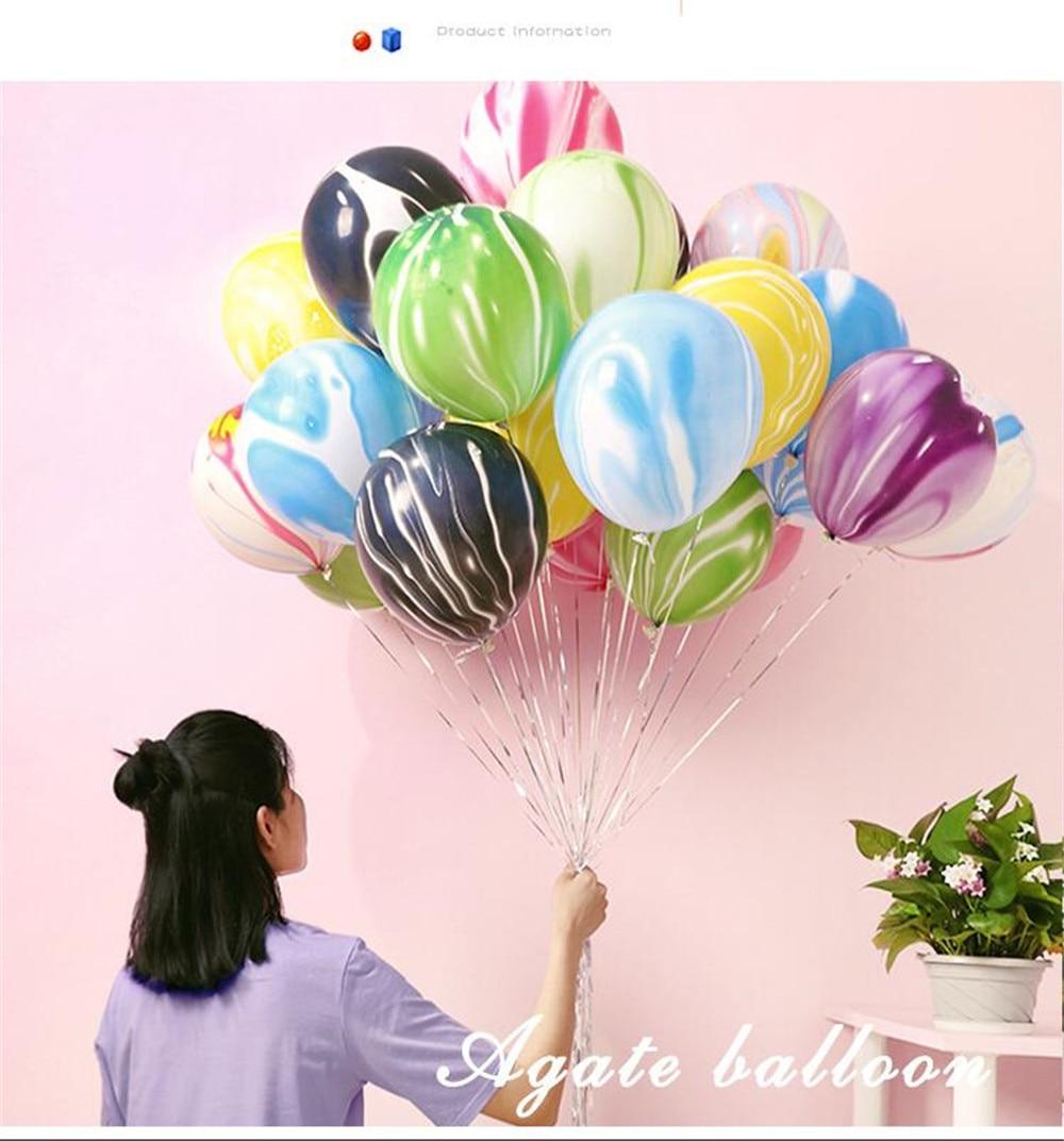 5pcs 12inch Colourful Balloon Pink  Ballon Happy Birthday Balloon Baby Shower Decoration Kids Party Supplies Cartoon Hat