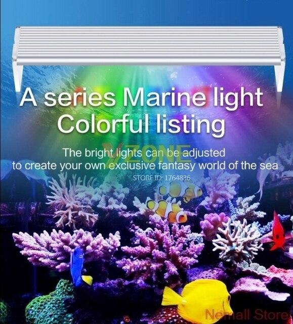 Réservoir De récif Aquario Chihiros D'aquarium A Mené La Lumière D'éclairage Lampe Pour Poissons Marins Et Bleu Corail Blanc Et Couleur De Luminosité Réglable