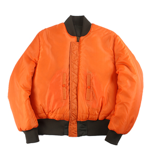 Image 2 - 2020 Winter Vintage oversize MA 1 streetwear hip hop military coats clothes double side bomber flight air force pilot jacket men