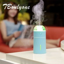 ФОТО tbonlyone 175ml projector light humidifier for baby home office essential oil diffuser air aroma diffuser ultrasonic humidifier