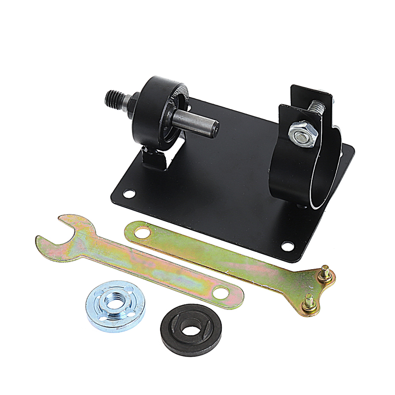 10MM Electric Drill Cutting Seat Stand Machine Bracket Rod Bar Table+2 Wrench -Y103