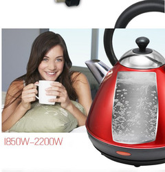 Electric kettle 304 stainless boiling kettle household electric quick boiling pot Food grade milk coffee cooking 1.7L