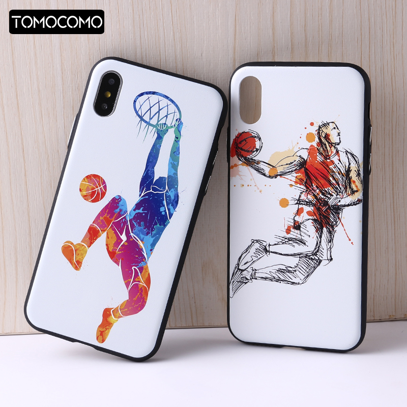 Tomocomo <font><b>NBA</b></font> Баскетбол чехол для телефона Карри Харден Джеймс Кобе Coque для iphone6 6 Plus 7 7 Plus 8 8 плюс кремния Прозрачный ТПУ чехол