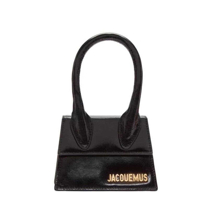 Image 2 - Small Totes Big handle Designer shoulder handbag Square Women  Crossbody bags Female Removable shoulder strap clutch bagTop-Handle  Bags