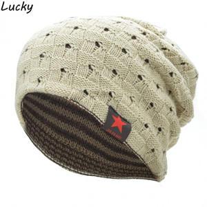731baf1c0ba Alishebuy Women Men Hats Knitting Caps Beanie Warm Unisex