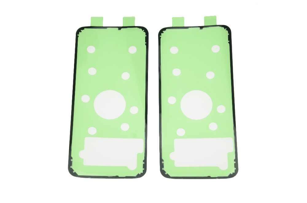 2 uds Nota 8 9 A adhesivo para carcasa para Samsung Galaxy S6 S7 borde espalda tapa de la batería de cristal, de adhesivo para S8 S9 Plus