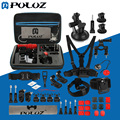 PULUZ 45 in 1 GoPro Accessories Ultimate Combo Kit with EVA Case for GoPro HERO4 Session /4 /3+ /3 /2 /1, Chest Strap, Mounts