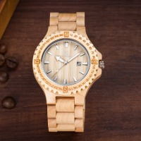 Fashion Watch UWOOD Dress Quartz Watches Men Natural Eco Wooden Japan Movement Casual Man Clock Auto