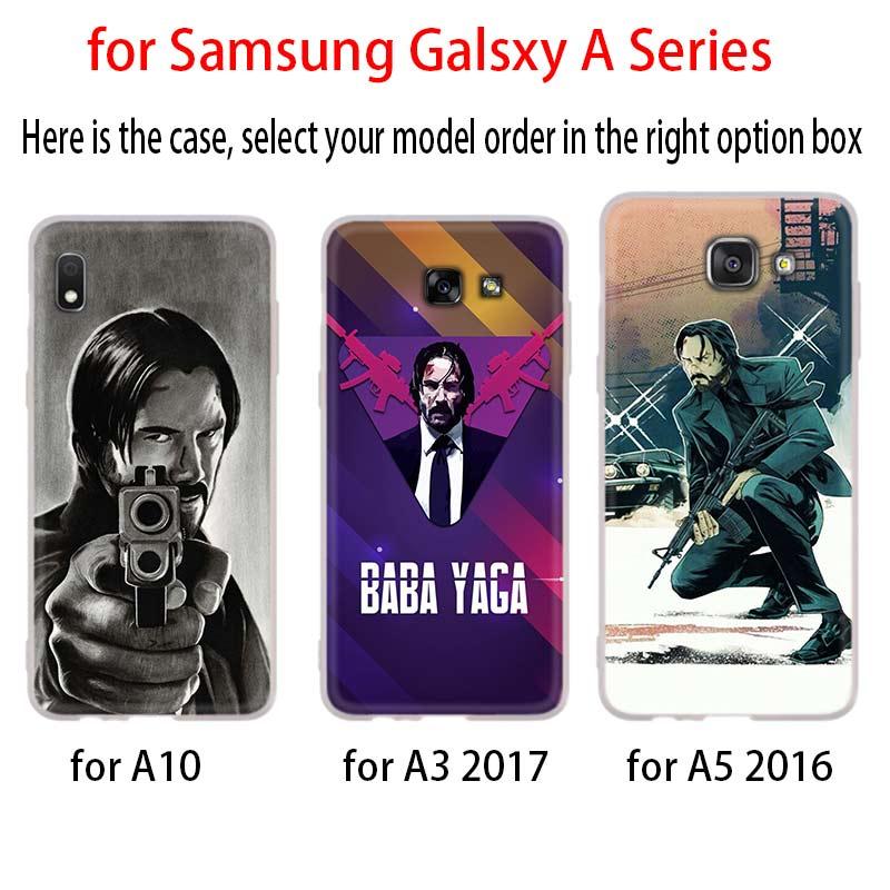 John Wick For Samsung Galaxy A10/A30/A40/A50/A70 A9 A8 A6