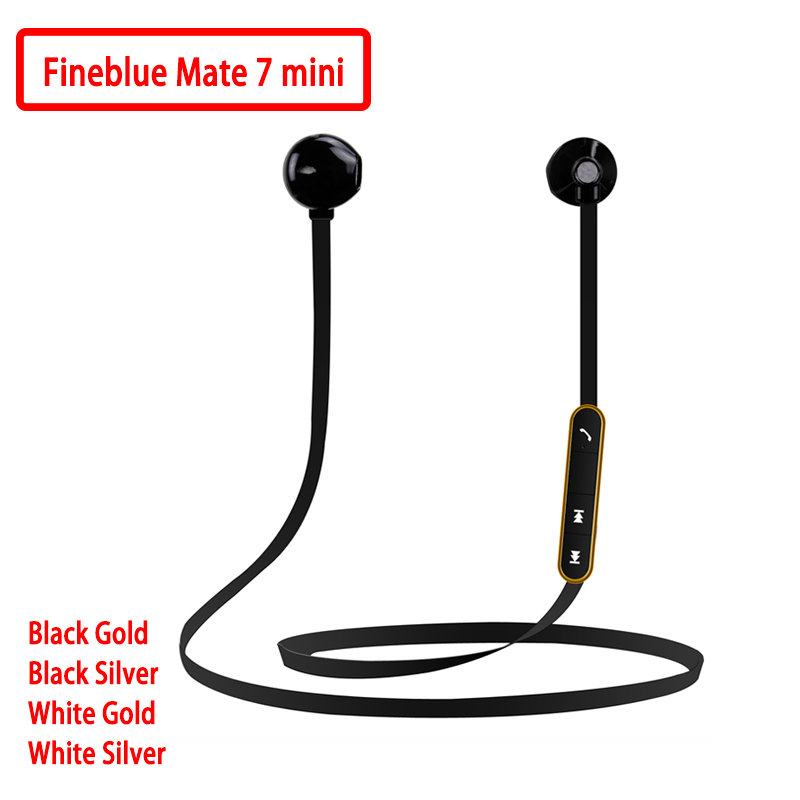Fineblue Original stereo Blutooth Headset Blutooth earphone wireless Earphone answer call listen music sport headset Mate7 MINI|headset blutooth|wireless earphones|earphone wireless - title=
