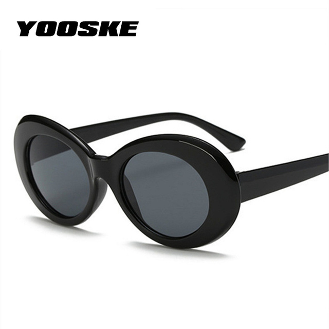 c20927390813b NIRVANA Kurt Cobain YOOSKE Óculos Mulheres Homens Marca Designer Óculos  Masculino Óculos de Sol das Mulheres
