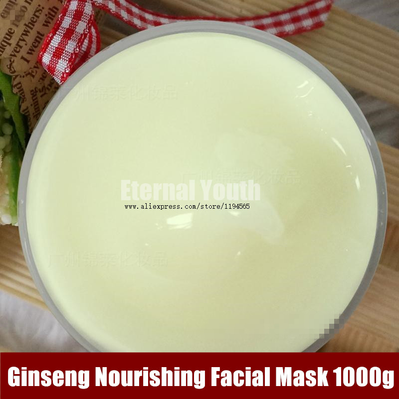 цена на 1KG Ginseng Whitening Moisturizing Real Nature Facial Mask Cosmetic Skin Care Beauty Salon Equipment Wholesale