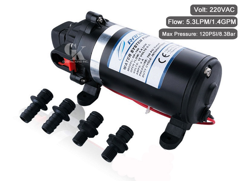 Aliexpress Com Buy 120psi Self Priming Water Pump 220v