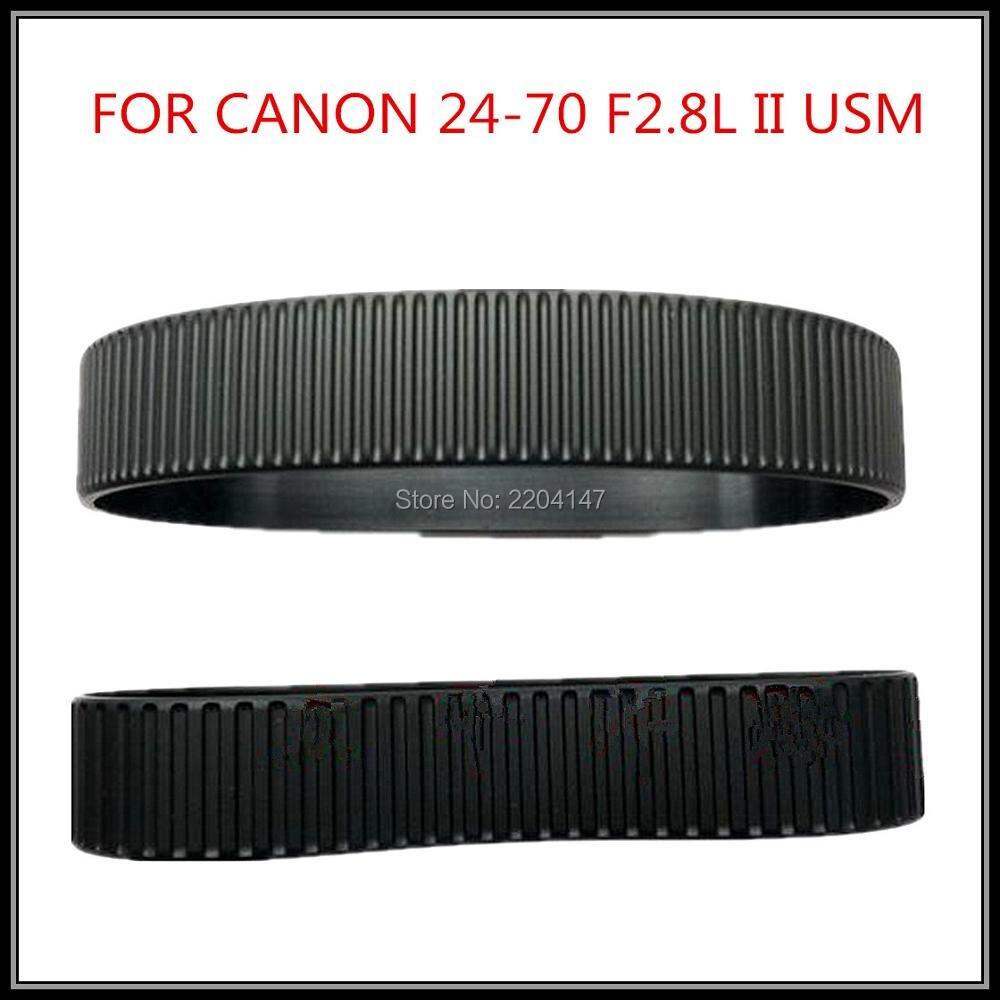 NEW Focus Lens Zoom Grip Anneau En Caoutchouc Pour Canon EF 24-70mm 24-70mm f/2.8L USM Réparation Partie (Gen 2)