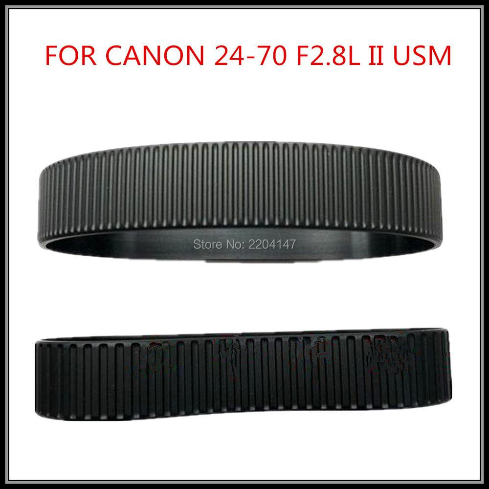 NEW Lens Focus Zoom Grip Rubber Ring For Canon EF 24-70 mm 24-70mm f/2.8L USM Repair Part (Gen 2) объектив canon ef 24mm f 2 8 is usm черный