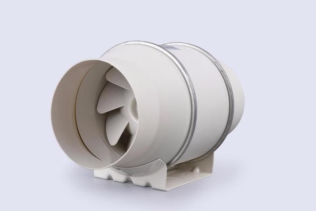 Hon y Guan E-EMS Envío libre 6 pulgadas Nuevo Sistema de Ventilación Ventilador de Conducto En Línea De Flujo Mixto HF-150P 110/220 V baño extractor de aire