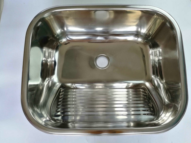 RV Caravan Camper Boat SS Hand Wash Basin Kitchen Sink 500*450 ...