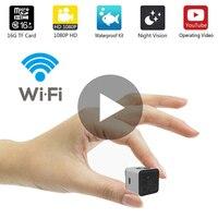 SQ13 SQ 13 Small Secret Micro Mini Camera Video Cam IP WiFi Smart 1080p HD Night Vision Wi Fi Wi Fi Tiny Microcamera Minicamera