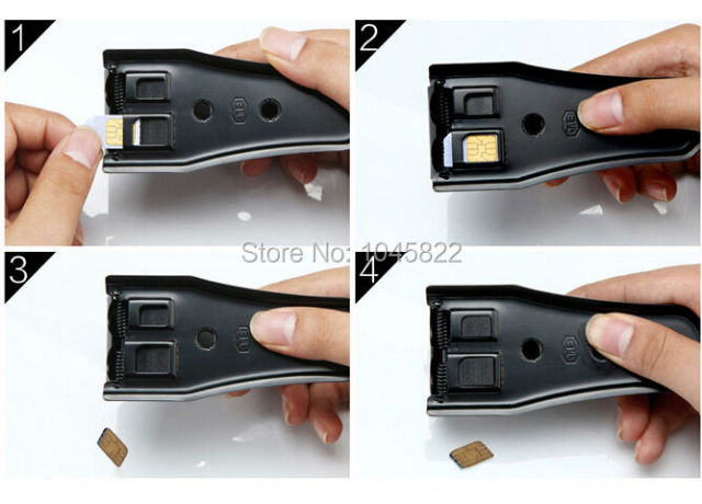 Dual Micro Sim Cutter For Cell Phone