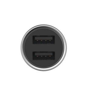 Image 5 - Roidmi Auto Ladegerät Metall Aussehen Dual USB 5V 3,6 A Ausgang Schnelle Ladegerät Adapter Für iPhone Und Android Samsung