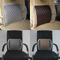 car  Lumbar Cushion Mat Back Massage Waist Support Car Home Office Hot Selling Automotive seat cushion pillow car seat