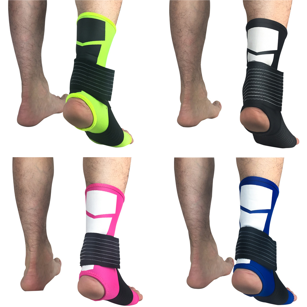 Protective Gear Sports Ankle Sleeve Elastic Bandage Pressure Ankle Support Guard LFSPR0039