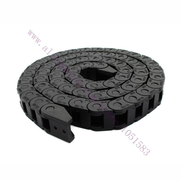 1 Metro plásticos de nylon cabo de reboque/arraste cadeia furos Tamanho Interno 7*7mm ou 10*10mm Opcional CNC impressora 3D acessórios