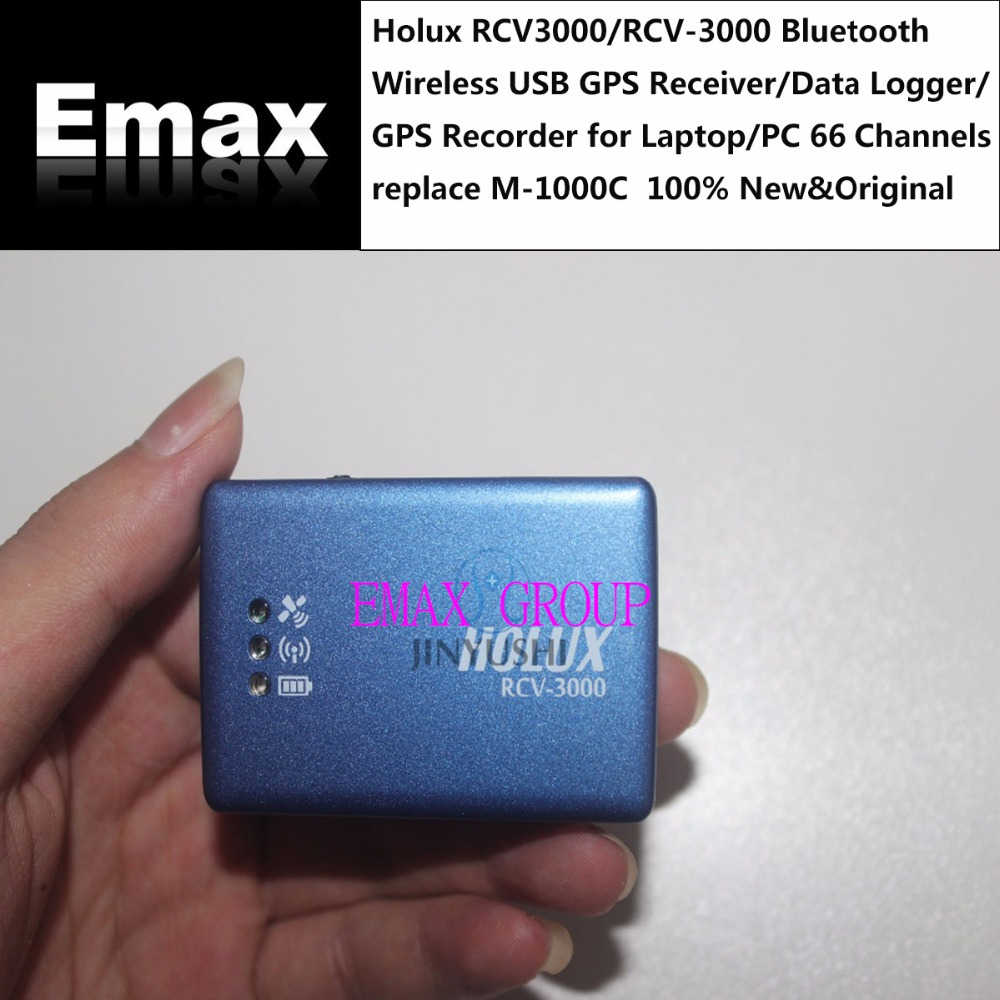 Holux RCV3000/RCV-3000 Bluetooth Wireless USB GPS Receiver/Data Logger/GPS Recorder ForLaptop/PC 66 Channels Replace M-1000C(China)