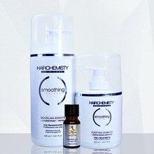 Keratin 500ml 8% formaldehyde straighten hair keratin treatment and 300ml purifying shampoo before keratin hair treatment
