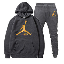 23 JORDAN Autumn Winter Hot sale men's sets Hooded Sweatshirt + Two-piece pants sets of Casual tracksuit Men's Sportswear Fitnes(China)