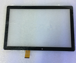 Nowy 10.1 cal ekran dotykowy Digitizer dla DEXP Ursus P110 3g tablet PC Ekrany LCD i panele do tabletów Komputer i biuro -