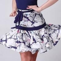 2019 New Adult Classic Latin Dance Competition Skirt Lady Ballroom Cha Cha Salsa Rumba Latin Dancing Dress 2 Colors Dance Dress