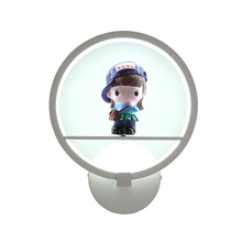 ФОТО married contracted led lamp porch cartoon girls princess male children bedroom wall lamp