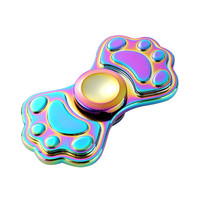 Tri Spinner Fidget Hand Spinner Camouflage Multi Color EDC Focus Toys