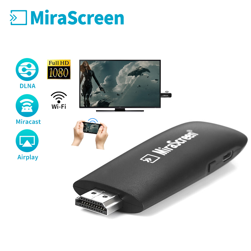 Wireless display Dongle Mirascreen Airplay DLNA Miracast Adapter Mini PC Android TV-stick vs crome chrome guss/Ezcast/anycast