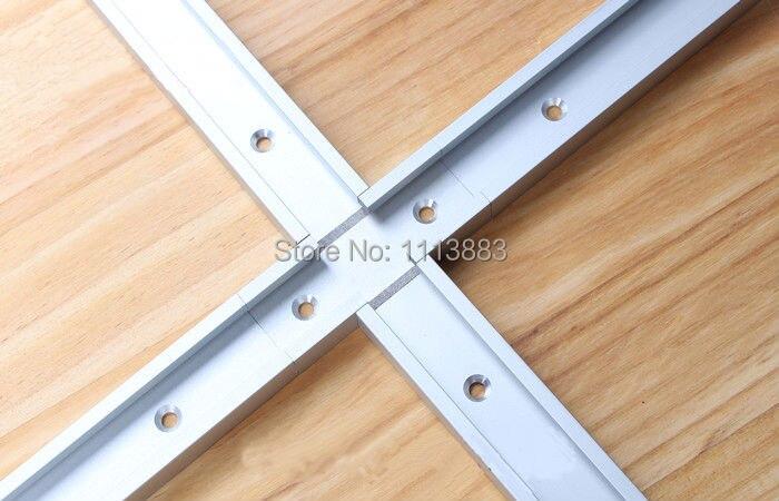 Купить с кэшбэком 4PCS T-Track Intersection Parts 8cm long