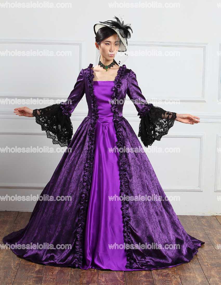 6e5ecb39adb30c 18e Eeuw Renaissance Historische Periode Jurk Voor Vrouwen Rococo Barok  Marie Antoinette Kostuums in 18e Eeuw Renaissance Historische Periode Jurk  Voor ...