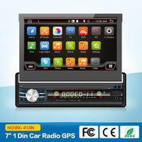 Single 1 DIN Car without DVD Player auto radio GPS Touch Stereo Radio automotive+free map