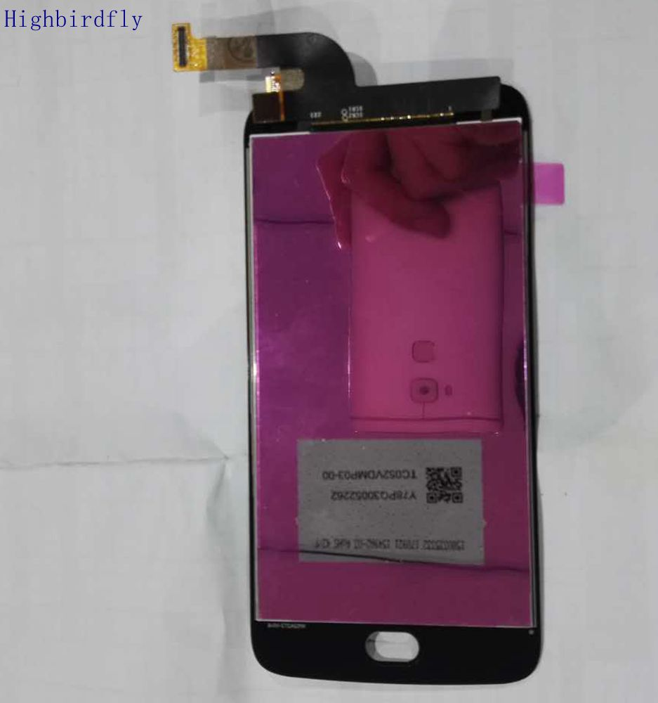 Highbirdfly For Motorola Moto G5S <font><b>XT1792</b></font> XT1793 XT1794 <font><b>Lcd</b></font> Screen Display With Touch Glass Digitizer Assembly image